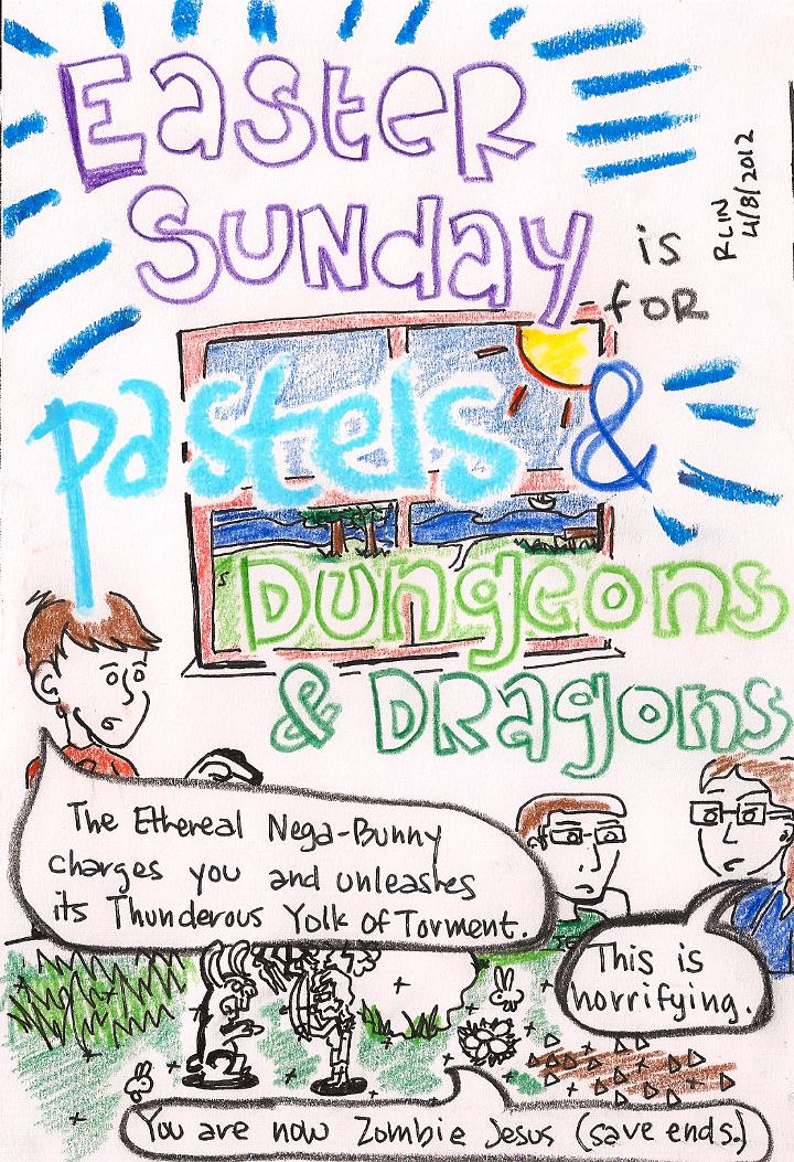[Comic: 162 - Easter Sunday]